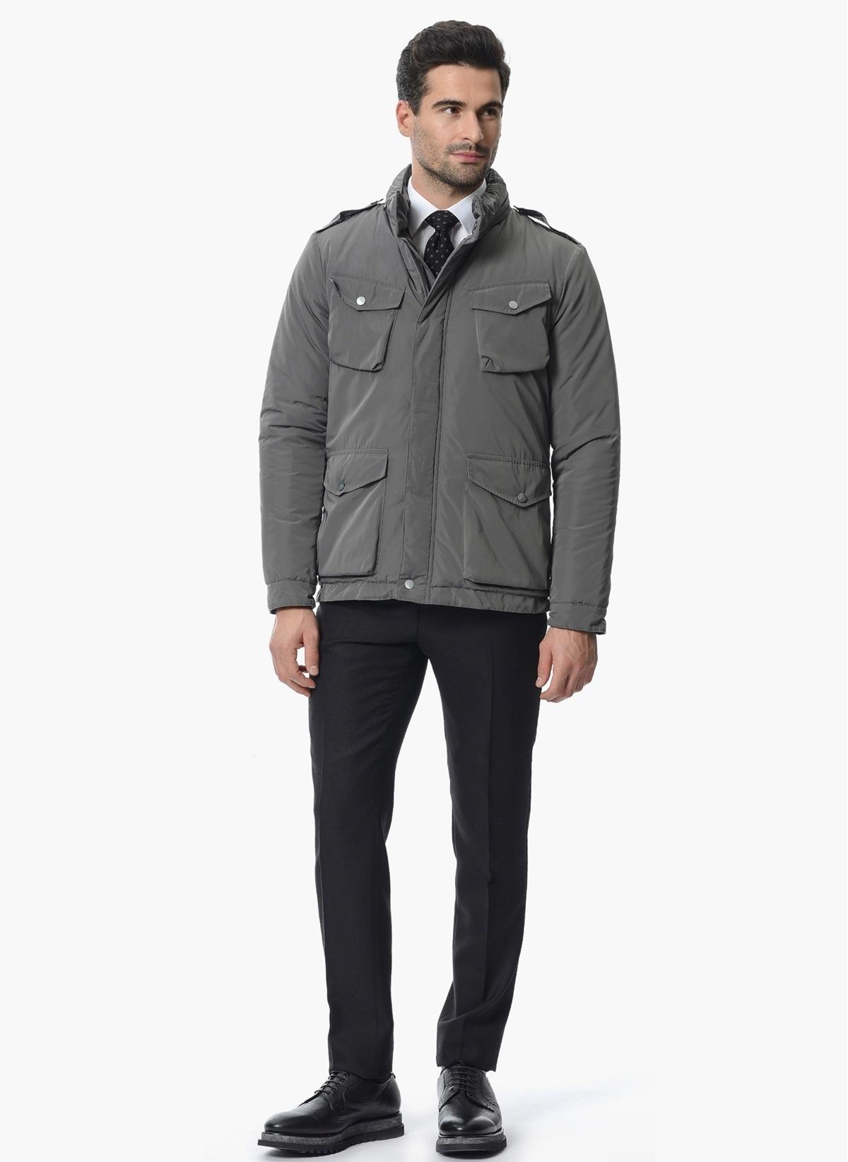 Network Slim Fit Mont 1057526-e-coat-ceket – 379.0 TL